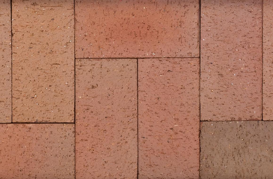 104 Red Flashed 4x8 Brick Pavers King Masonry Yard Ltd